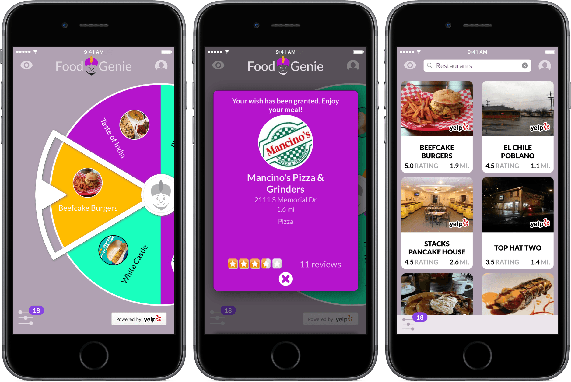 Food Genie Review The Perfect Restaurant Selection Tool